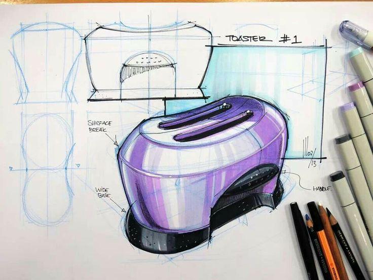 toaster industrial design sketch design pinterest toaster industrial design and sketches. Black Bedroom Furniture Sets. Home Design Ideas