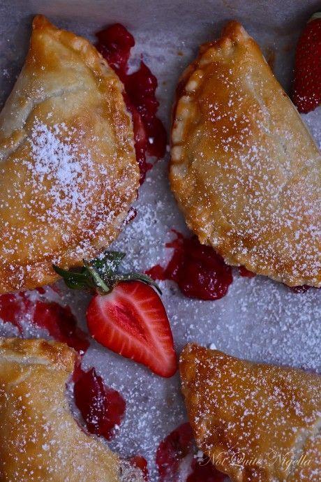 Sweet Li'l Strawberry Hand Pies | Creative, Pie recipes ...