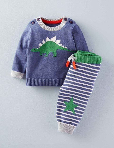 Dinosaur Knitted Play Set 71481 Clothing at Boden