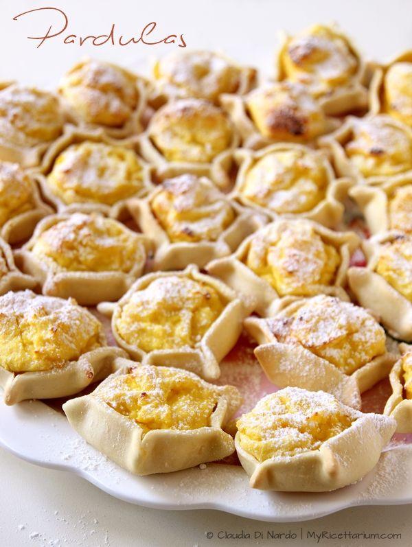 My Ricettarium: Pardulas sarde (formaggelle o casadinas)