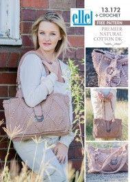 Create your own beautiful handbag using Elle Yarns