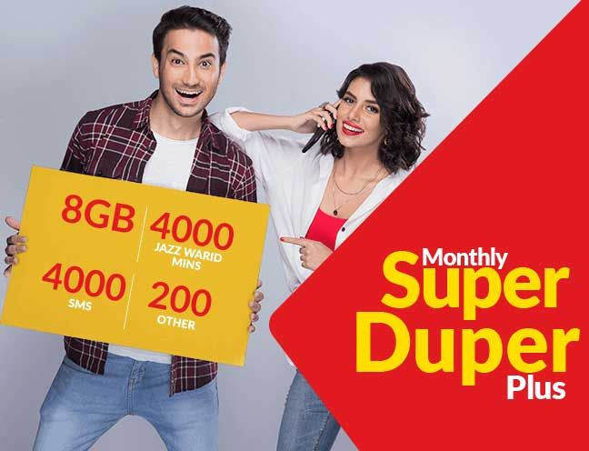 Jazz Monthly Super Duper Plus Offer Extra Satisfaction For Whole Month Jazz Super Offer