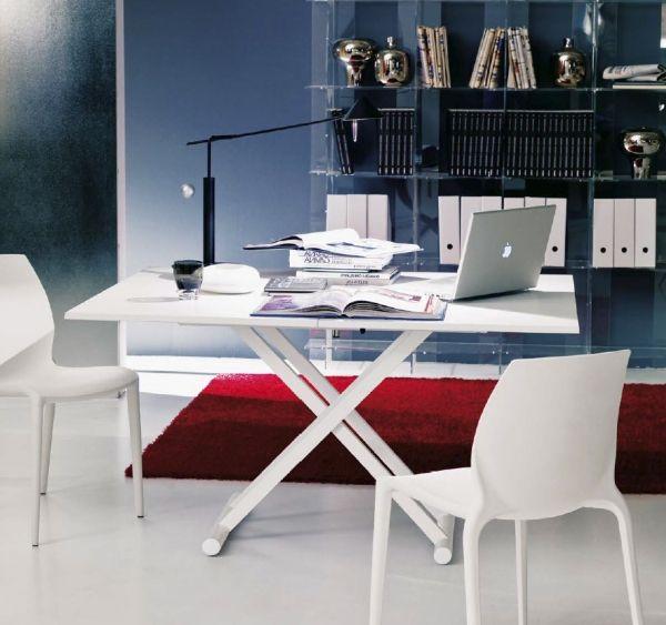 Nowoczesny rozkładany stół UGO 70-140 cm z regulowaną wysokością 30-80 cm HIT! | Ekskluzywne i oryginalne włoskie meble