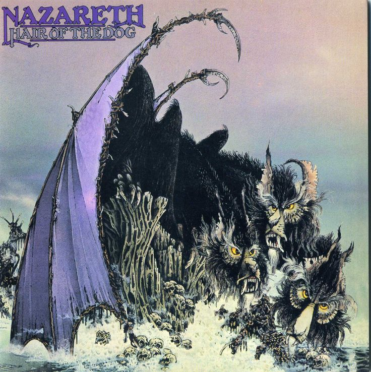 Nazareth - Hair of the Dog.  Pat and I must have played this a million times.  Still do.