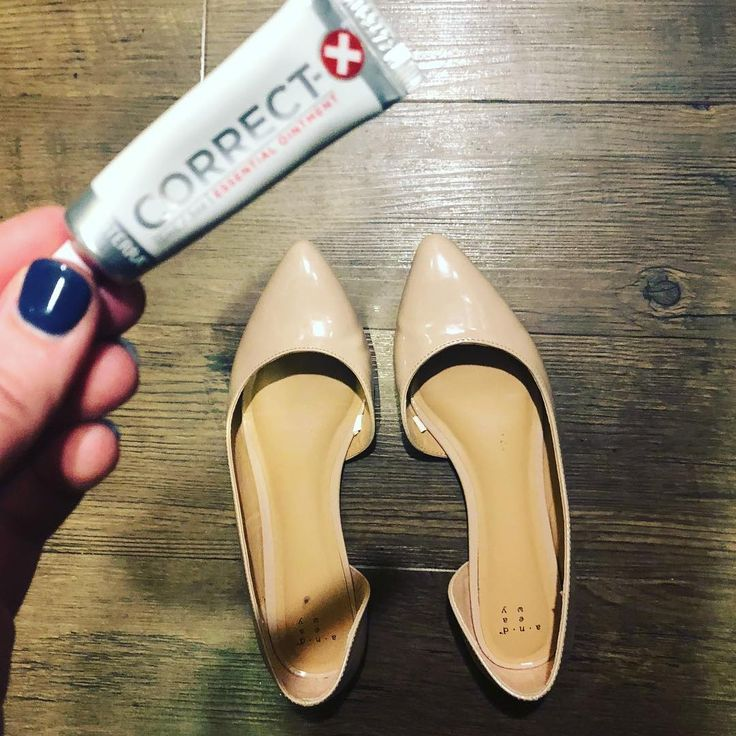 Love your new shoes but your feet dont feel the same?  Hello correct x it is my go to blister repair I put it on my blisters before bed and they feel so much better in the morning!  Correct x is my go to Neosporin replacement. Chapped lips blisters cuts scrapes dry heels or elbows skin irritations scars makeup primer...there are endless benefits in this little tube.  Have you used it if so what for?? #newshoes #correctx #blisters #cuts #scrapes #flats #heels #balletflats #neosporin…