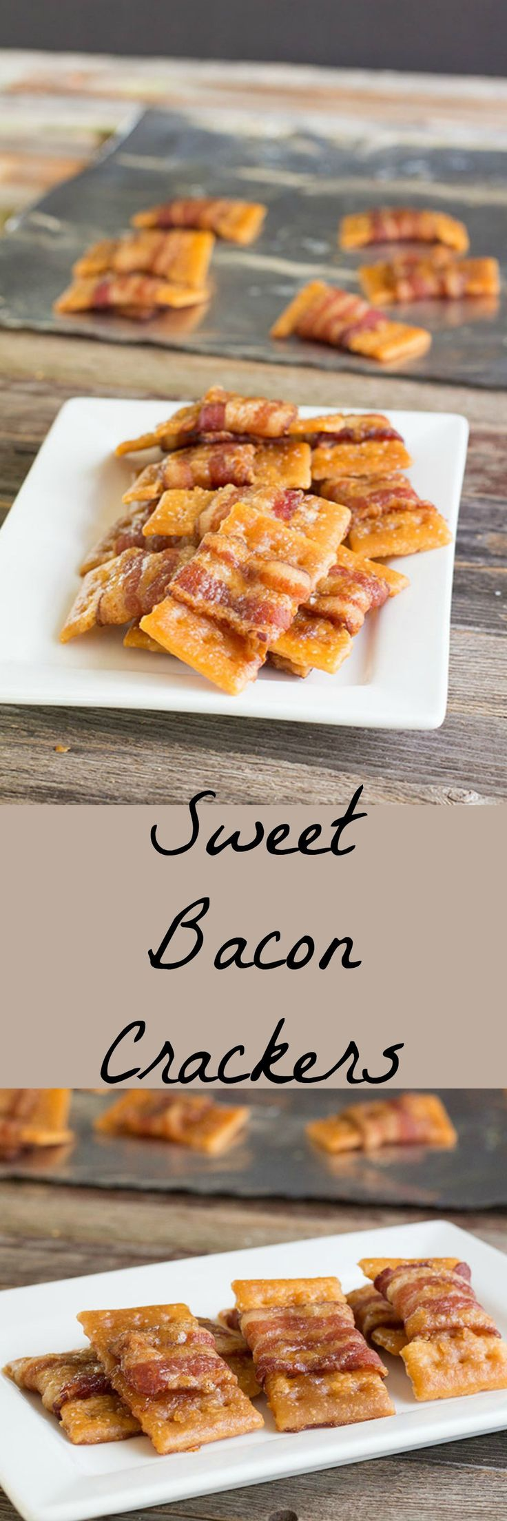 Bacon wrapped crackers, sprinkled with brown sugar and baked to perfection are the perfect tailgate or party recipe. Sweet, salty, portable and addictive.