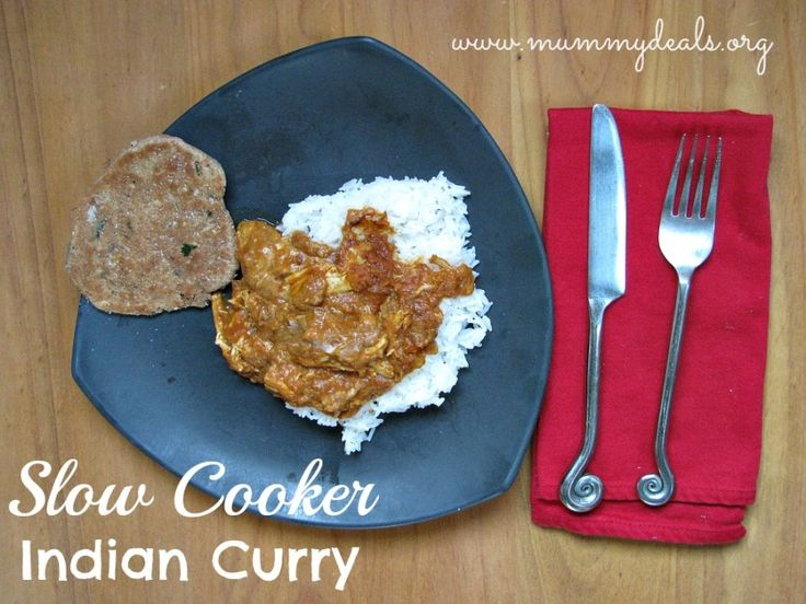 Slow Cooker Indian Curry Recipe