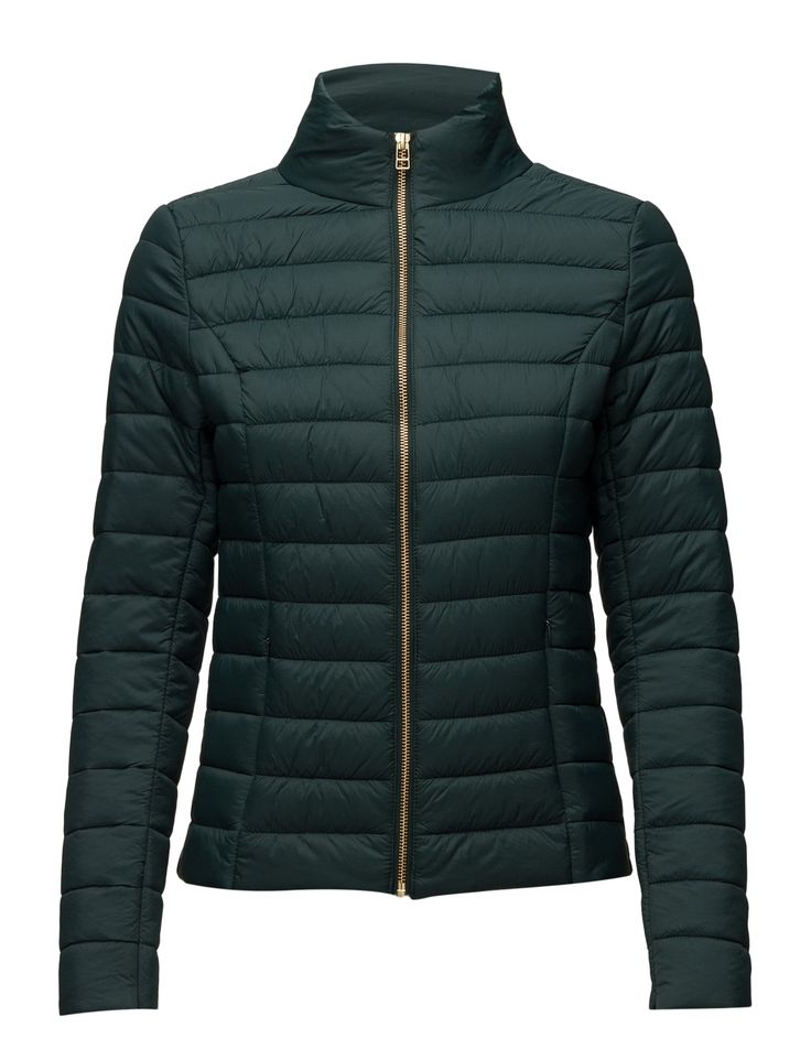 DAY - Day Dune Concealed zip pockets Front zip closure Quilted Weather resistant Shaping seams Chic Feminine