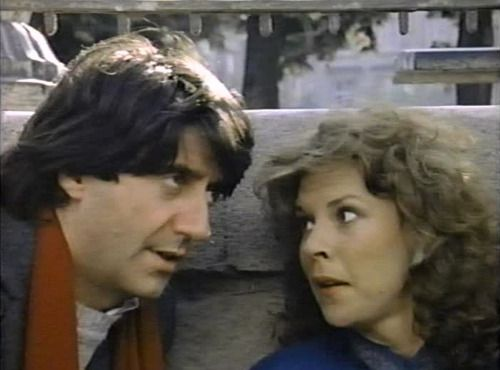 """Tom Conti, Jobeth Williams in """"American Dreamer"""" 1984"""
