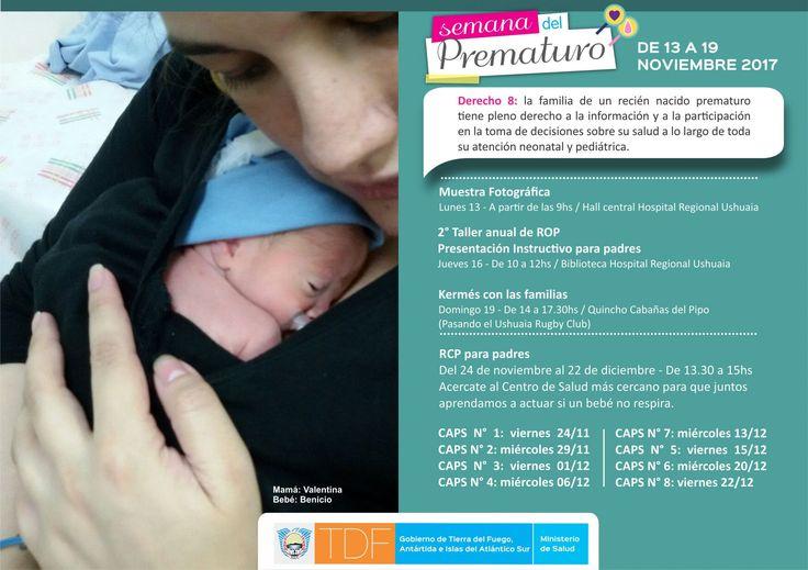 #El Ministerio de Salud anunció actividades por la Semana del Prematuro - La Licuadora: El Ministerio de Salud anunció actividades por la…