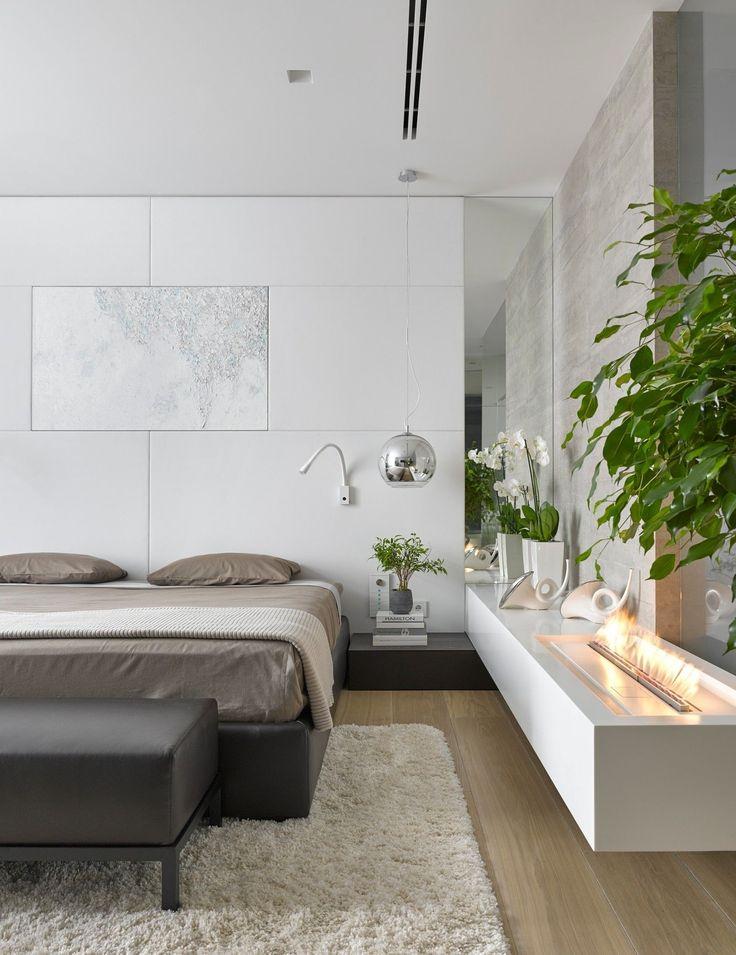 Шикарный интерьер современной спальни