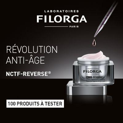 Test produits - Testez la crème NCTF-REVERSE des Laboratoires Filorga - Nous recherchons 100 testeurs ! Posez votre candidature gratuitement.