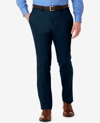 Kenneth Cole Reaction Men's Slim-Fit Stretch Dress Pants, Created for Macy's | macys.com
