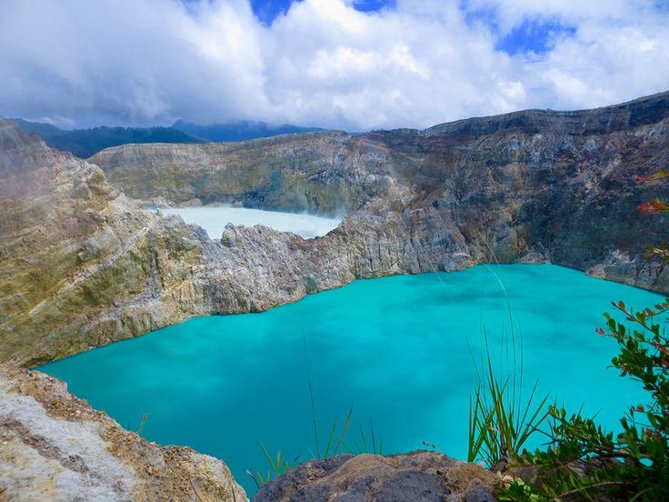 Kelimutu vulkán tavai, Flores, Indonézia
