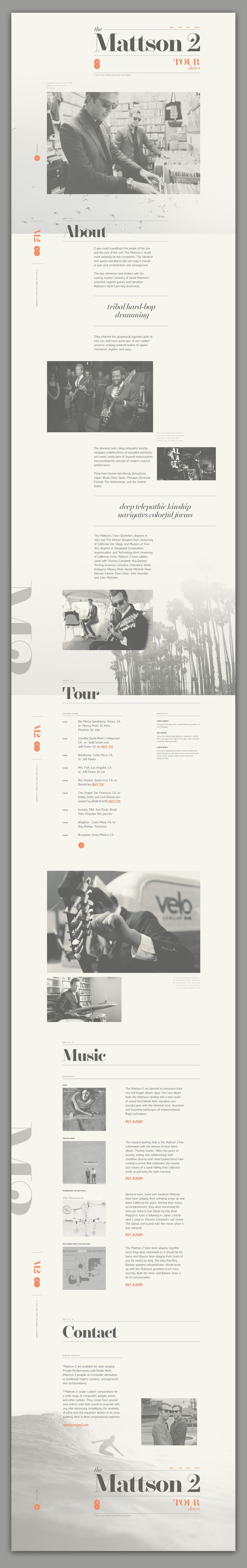 Web / The Mattson 2 Concept on Behance
