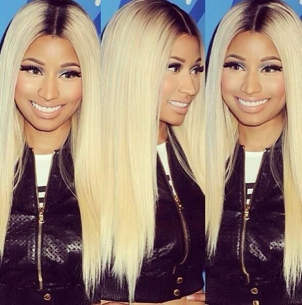 Nicki Minaj and her long beautiful locks! Find out why Nicki Minaj loves MYX Fusions at MYXFusions.com