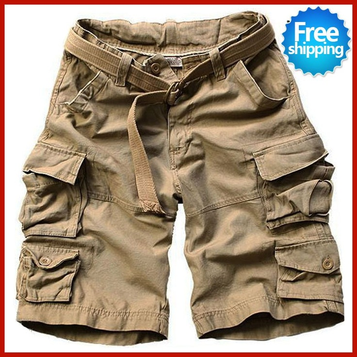 cargo shorts for men | 2013 Summer Men New Style Board Shorts High Quality Mens Cargo Shorts ...