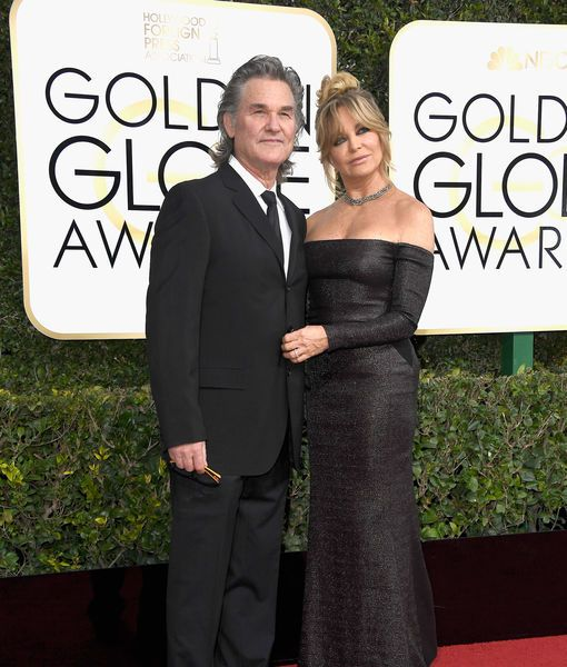 Kurt Russell & Goldie Hawn Share the Secret of Their 34-Year Relationship at Golden Globes