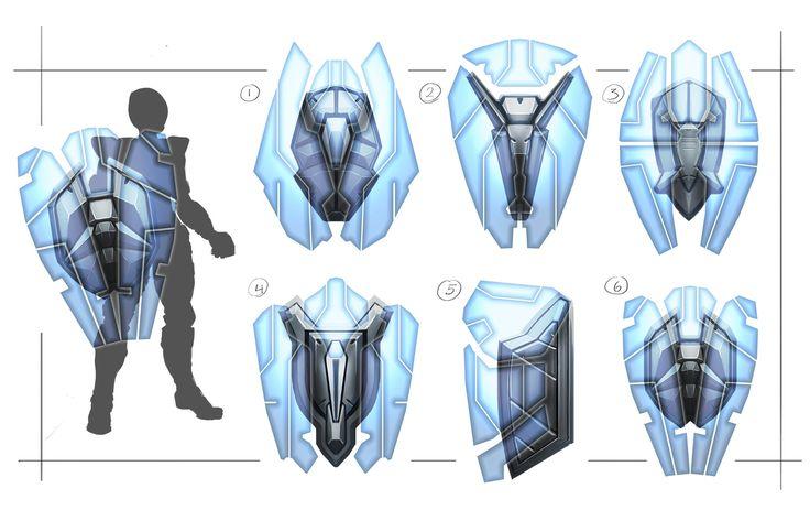 ArtStation - Sci Fi Shields , Terence Tolman