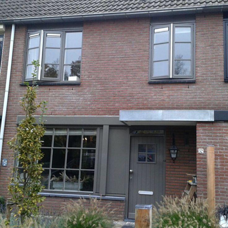 Huis in RAL 7039