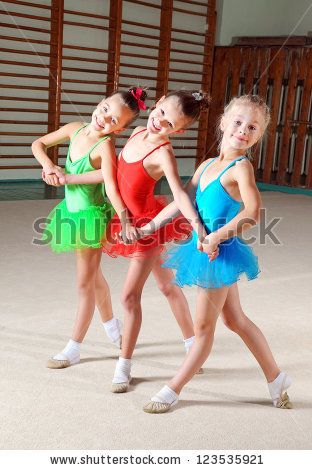 Group ballet poses