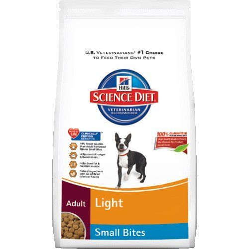 Hill's Science Diet Adult Light Small Bites Dry Dog Food, 17.5-Pound Bag - http://weloveourpugs.net/?product=hills-science-diet-adult-light-small-bites-dry-dog-food-17-5-pound-bag