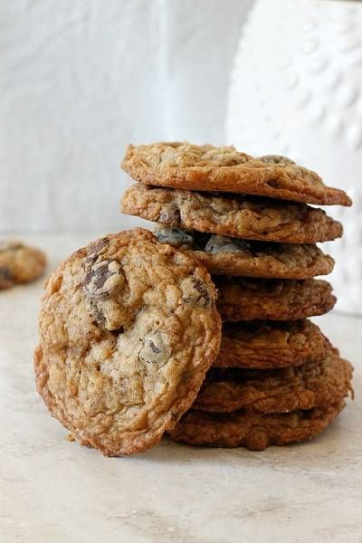 Oatmeal Coconut Chocolate Chip Cookies | Recipe