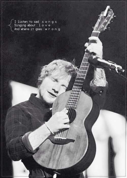 Ed Sheeran- One