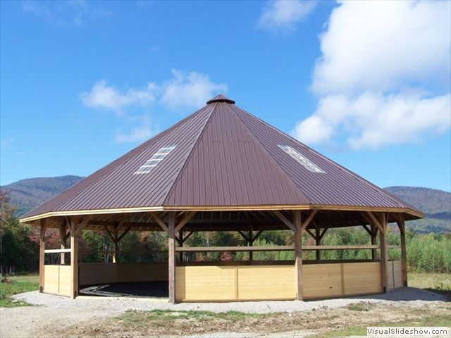 Gorgeous Covered Arena Available With Screens Windows And
