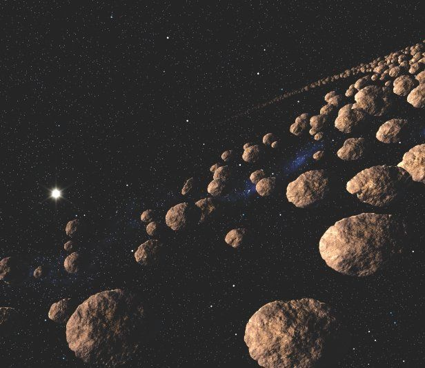 the mass of asteroid belt - photo #18