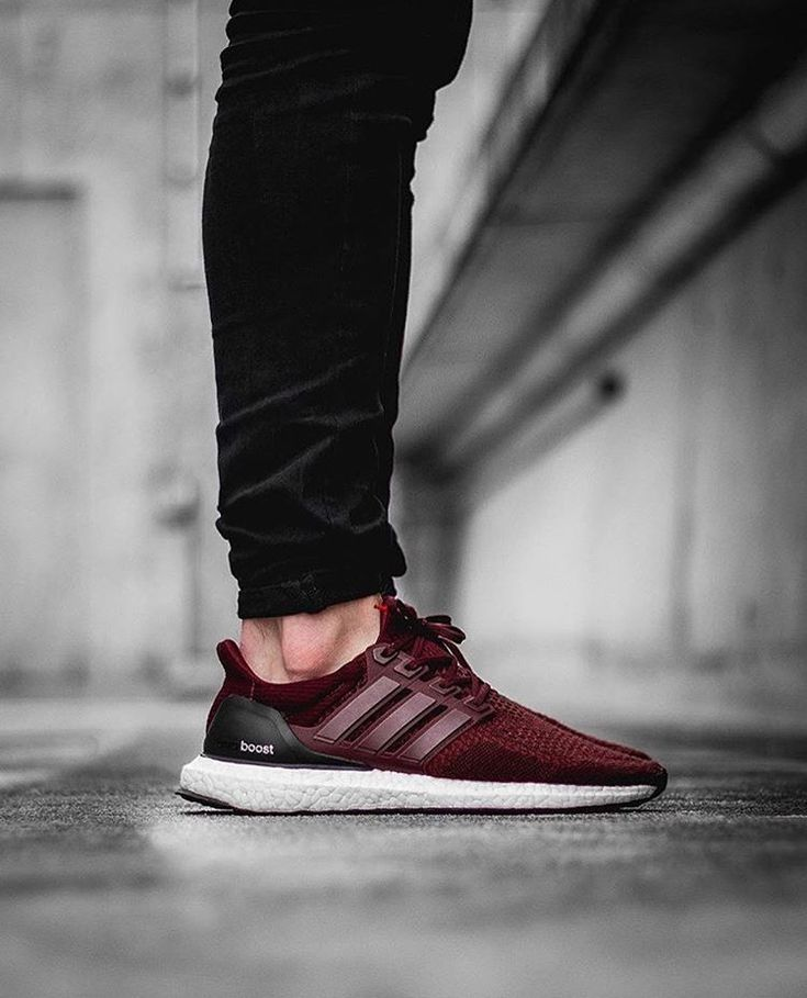 new product b9d53 1662a Burgundy Adidas Ultraboost