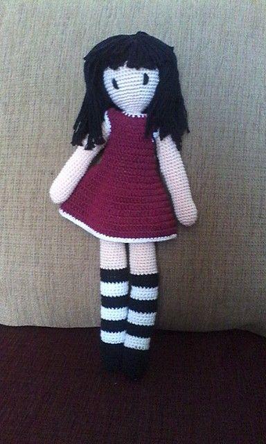 My gorjuss crochet doll
