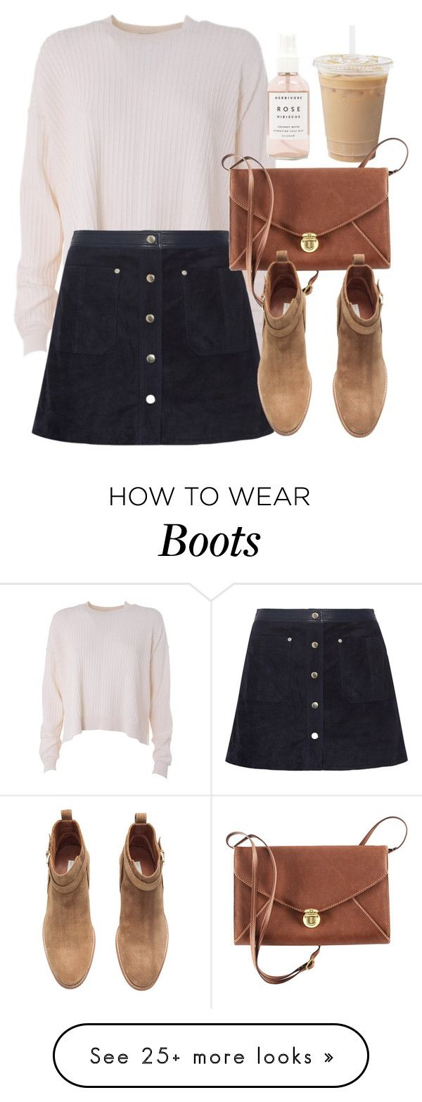 """Untitled #5684"" by laurenmboot on Polyvore featuring Acne Studios, rag & bone, H&M and Herbivore"