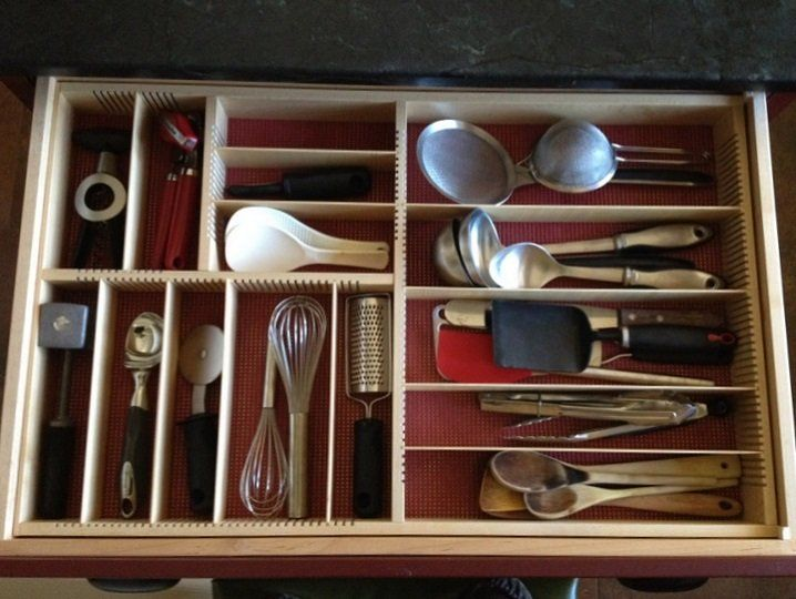 kitchen gadget organization. Orderly Drawer's Sunny template