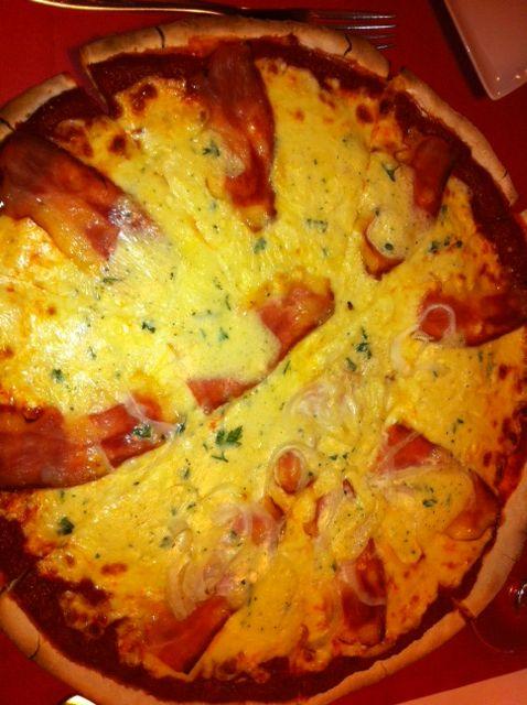 pizza carbonara superrrrr
