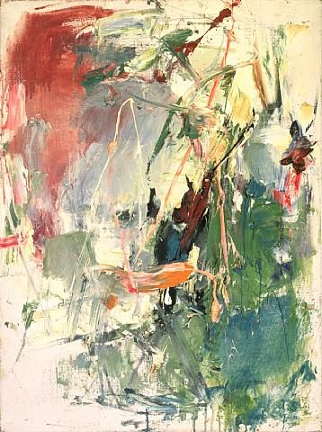 Untitled 1958. Joan Mitchell  Art Experience NYC  www.artexperiencenyc.com