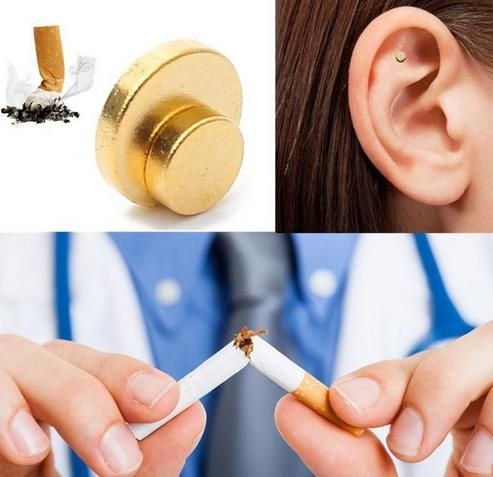 10 Sets/lot Therapy Magnet Quit Smoking Patch with Retail Box Stop Smoking Ear Massager Health Care Auricular Therapy Magnets