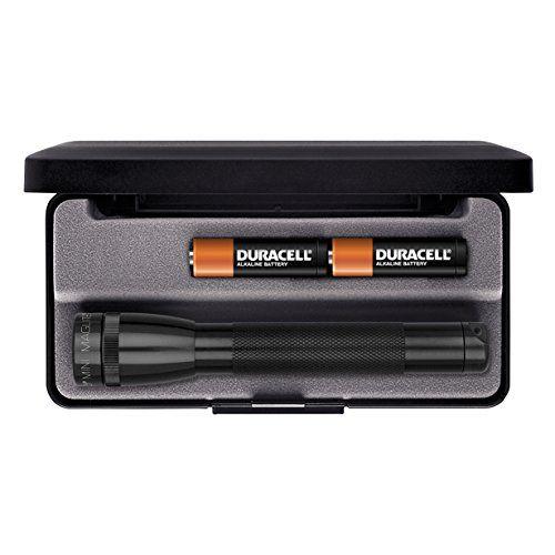 Maglite Minimag - Linterna de acampada y senderismo, color negro