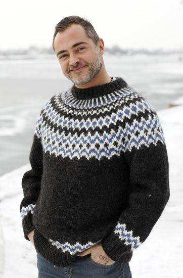 Glæd din egen Bonderøv med en lun og lækker striksweater