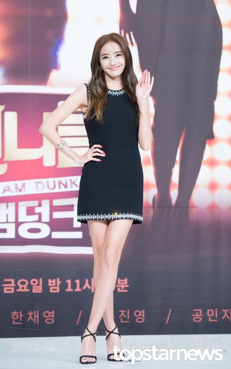 [HD포토] 한채영 모델포스 뿜뿜  #언니들의슬램덩크 #한채영