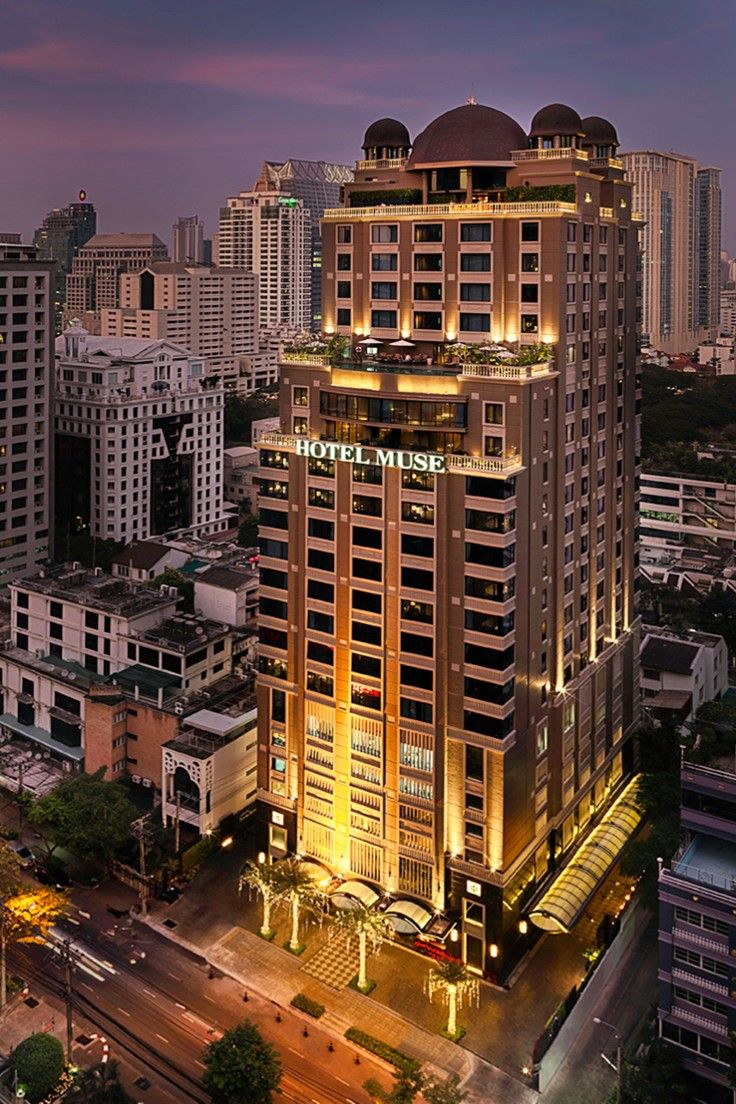 Hotel Muse Bangkok Langsuan - A Mgallery Collection - Bangkok, Thailand - Hotel Muse has a hot address on Soi Langsuan, mere minutes from the city center.