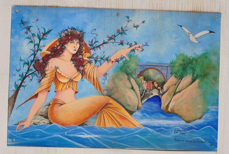 Fjord Furore murales