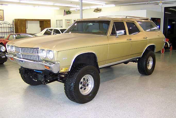 1970 Chevelle Wagon 4X4