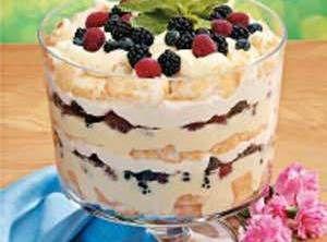 Brady Family Angel Berry Trifle Recipe