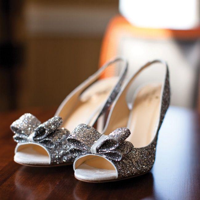 silver bridal shoes bridesmaid shoes?!