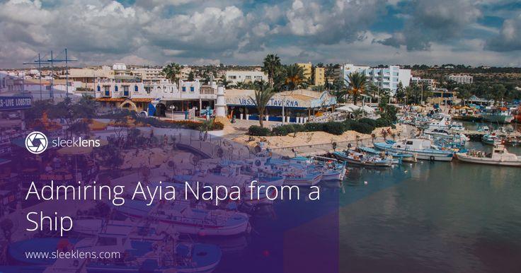Admiring Auia Napa from a Ship