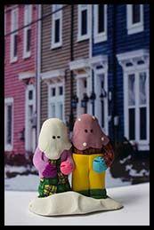 Dawn's Creations - Mummer buddies figurine