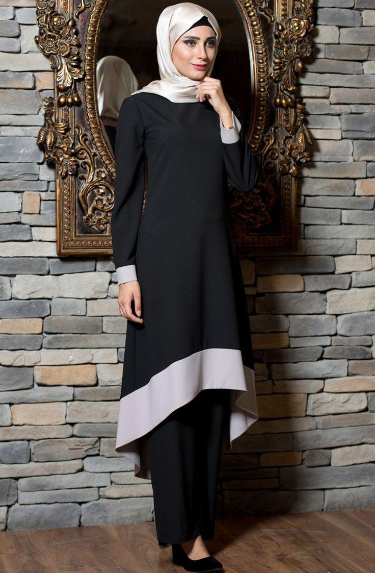 """Açelya Tunik 3010 Siyah Sitemize """"Açelya Tunik 3010 Siyah"""" tesettür elbise eklenmiştir. https://www.yenitesetturmodelleri.com/yeni-tesettur-modelleri-acelya-tunik-3010-siyah/"""