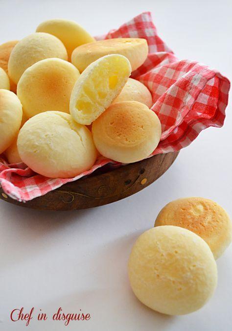 Irresistible Brazilian cheese bread..pao de queijo