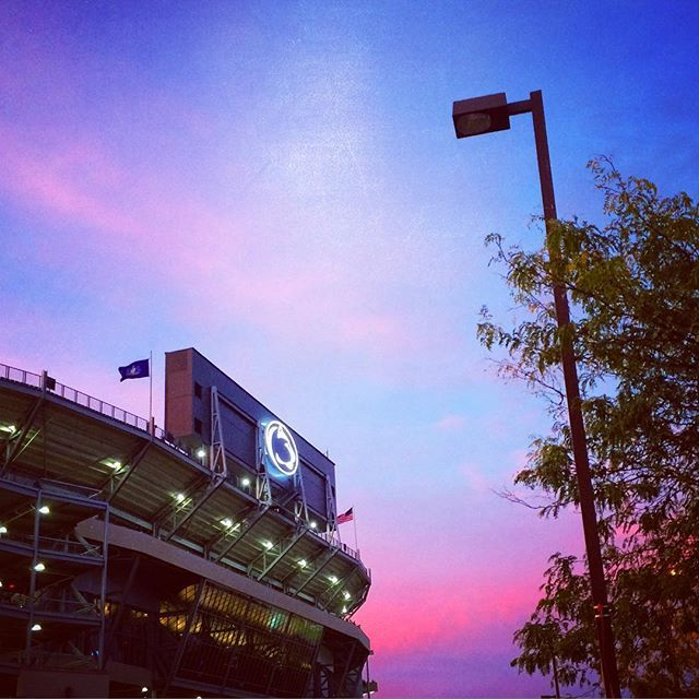 Beaver Stadium #WeAre #PennState (Photo by Bill Zimmerman)